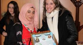 Visite des Scouts musulmans algériens الكشافة الإسلامية الجزائرية à la Direction de la Culture de Tizi-Ouzou à l'occasion de la Journée Internationale de la Femme 08 Mars 2016