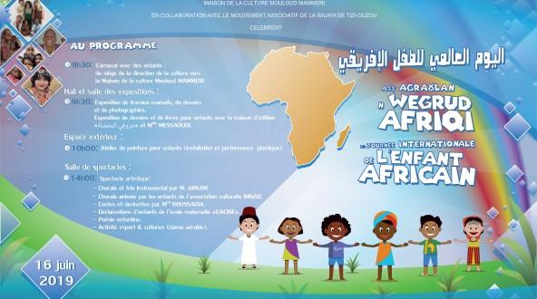 Affiche enfant africain 2019