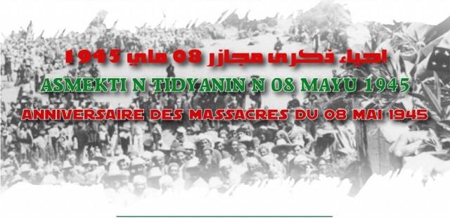 affiche 08 mai 1945 -2021